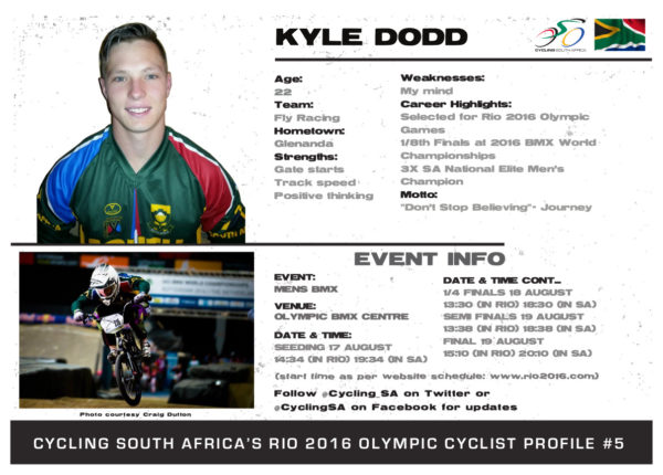 Kyle Olympic profile